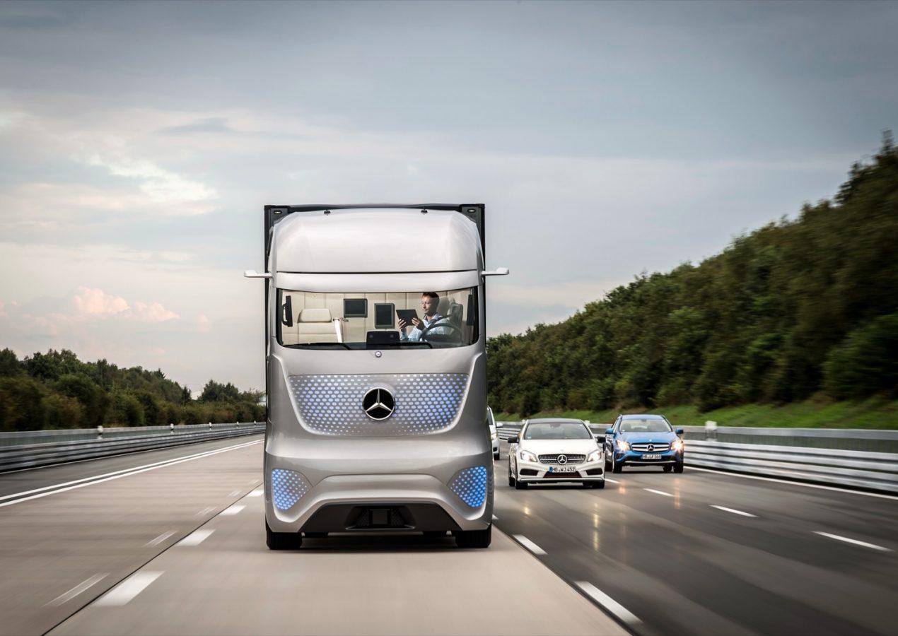 Daimler en Volvo maken waterstofvrachtwagens