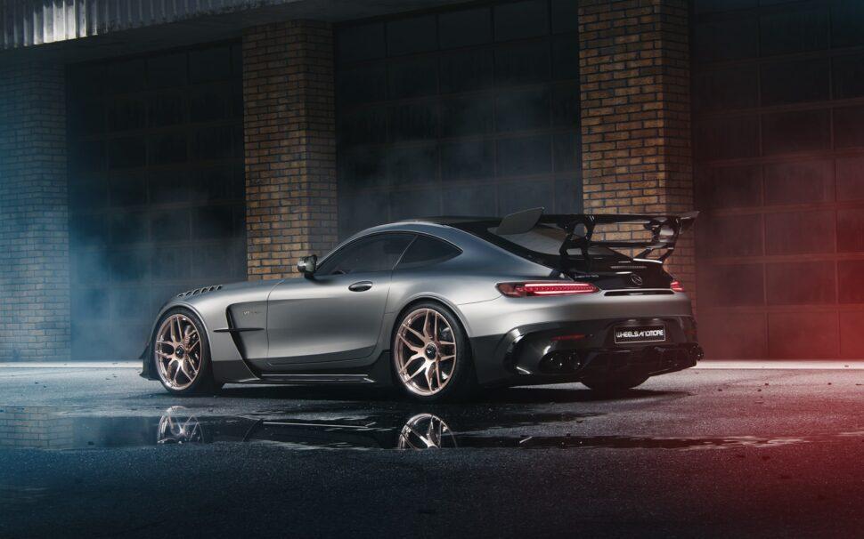 Wheelsandmore AMG GT Black Series is heerlijk kitsch